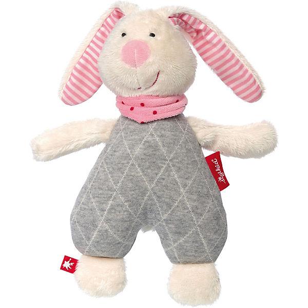 Kuscheltier Urban Hase rosa, Urban Kuscheltier Baby Edition, 25cm (39036), sigikid a82107