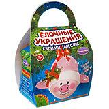 """Набор для творчества Bondibon """"Шар-подарок"""" Свинья"""