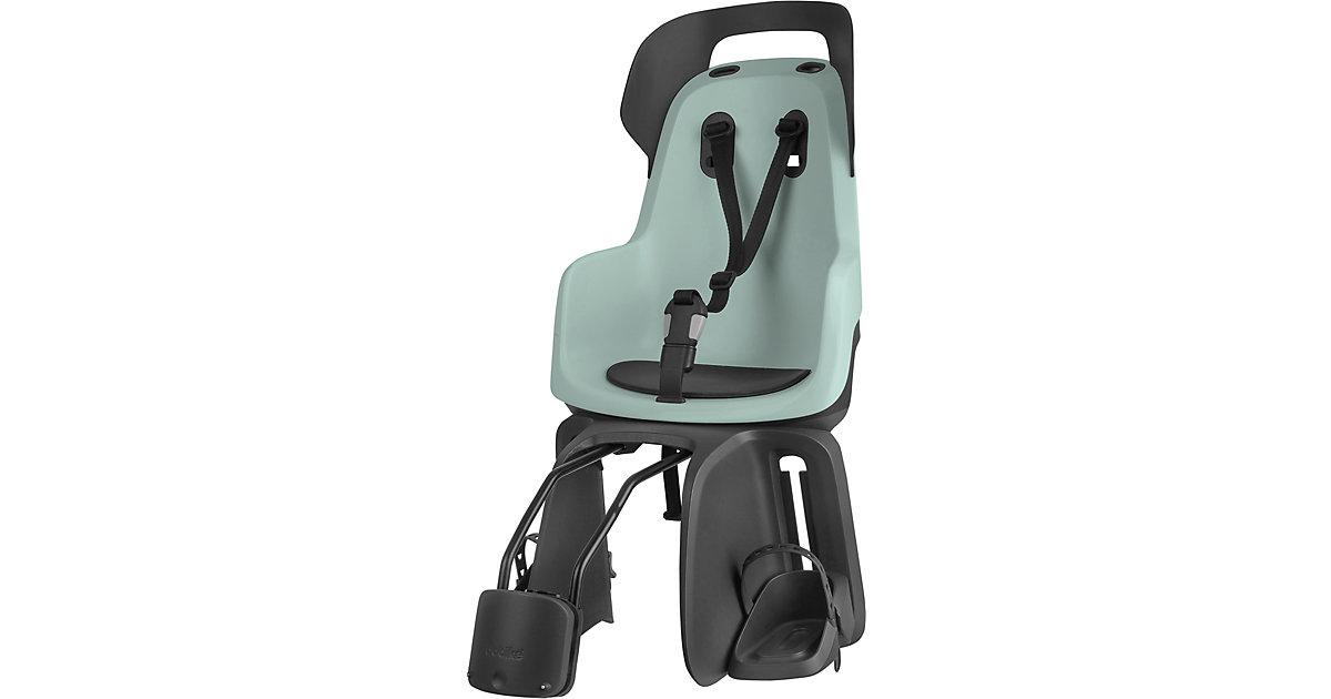 Fahrrad-Sicherheitssitz GO® EXCLUSIVE inkl. 1P-Bügel gepäckträgerlose Fahrräder, Marsmallow Mint mint  Kinder