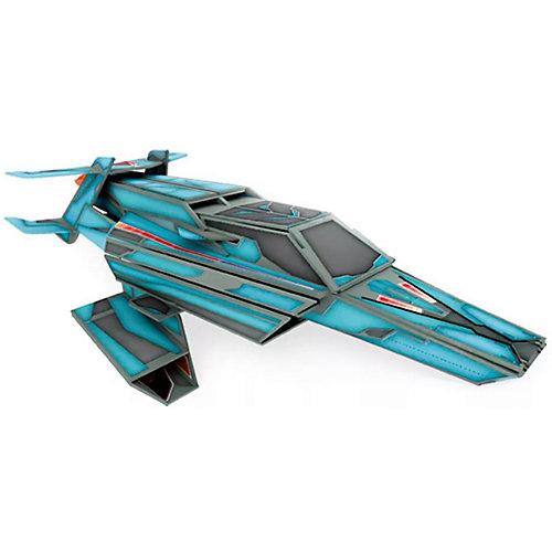"""Конструктор картонный 3D с книгой """"Космический корабль"""" от Sassy"""