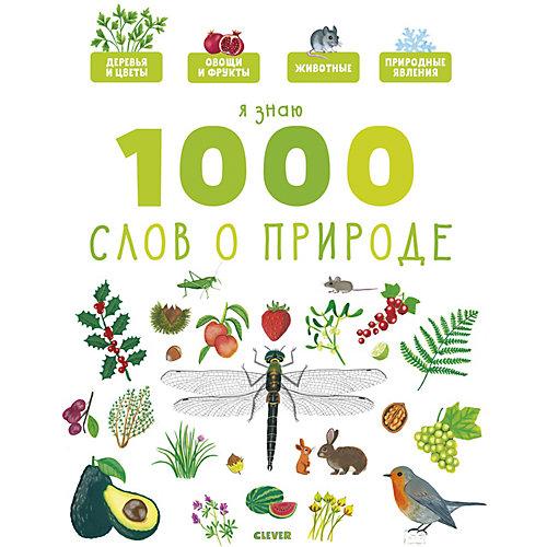 Главная книга малыша. Я знаю 1000 слов о природе. от Clever