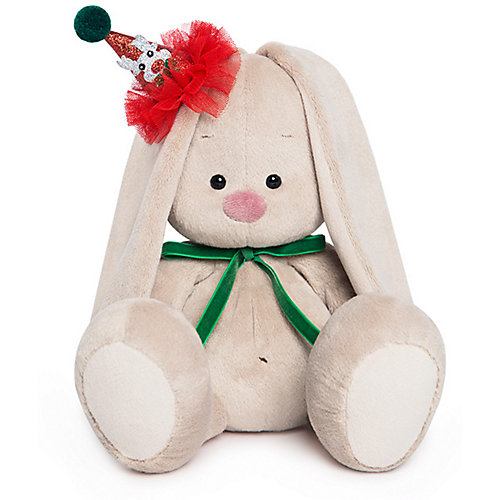 Мягкая игрушка Budi Basa Зайка Ми в колпачке с зеленым бантиком, 23 см от Budi Basa