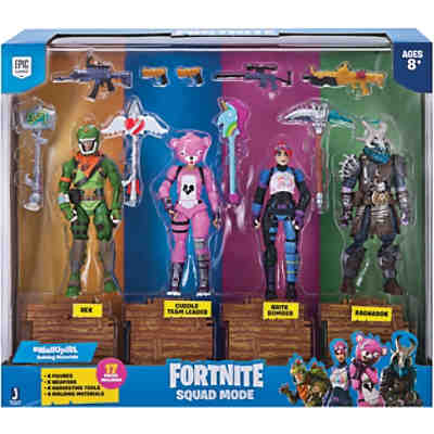 FORTNITE - Squad Mode 4-er Figuren Set