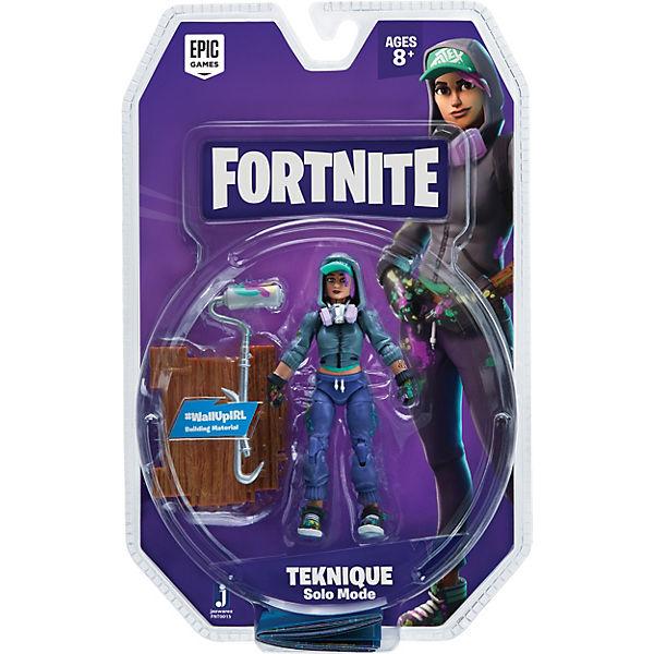 FORTNITE - Solo Mode Figur Teknique, 10 cm, Fortnite 8HIn7D