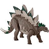"""Игровая фигурка Jurassic World """"Большие динозавры"""" Двойной удар, Стегозавр"""