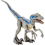 Базовая фигурка динозавра Jurassic World Dino Rivals Велоцерпатор, синий