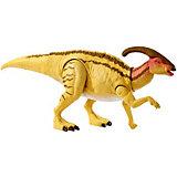 "Базовая фигурка динозавра Jurassic World ""Двойной удар"" Паразауролоф"