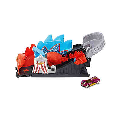 Hot Wheels City Dino Achterbahn-Attacke