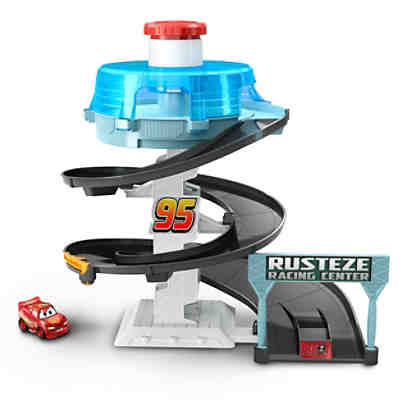 Disney Cars Rust-Eze Dreh-Action-Rennbahn Spielset