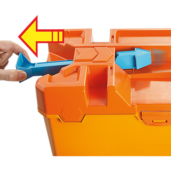 Hot Wheels Track Builder System Fässer-Stunt Box, Hot Wheels QKwgfa