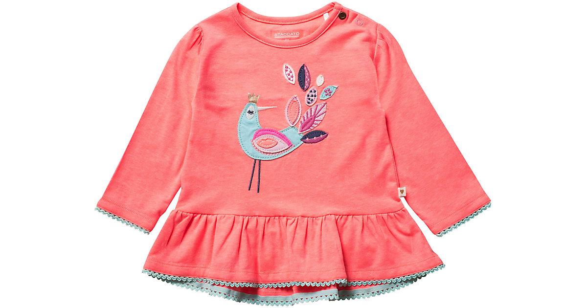 STACCATO · Baby Langarmshirt Gr. 80 Mädchen Kleinkinder