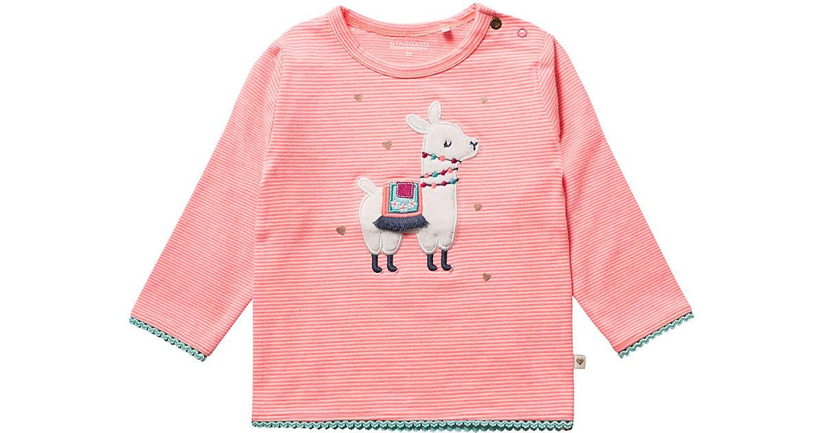 STACCATO · Baby Langarmshirt , Lama Gr. 86 Mädchen Kleinkinder