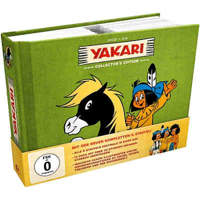 DVD Yakari Collectors Edition (Staffel 1-5, 12 DVDs)