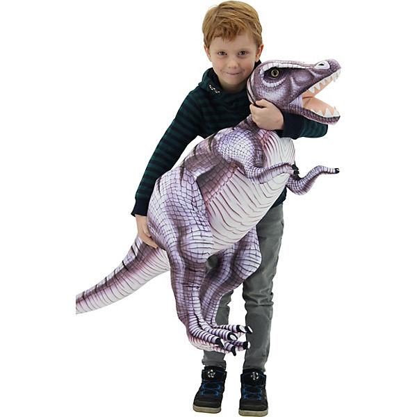 "Sweety Toys 10943 grau-lila""Tyrannosaurus XXL Dinosaurier grau-lila""Tyrannosaurus 10943 "", bd396b"