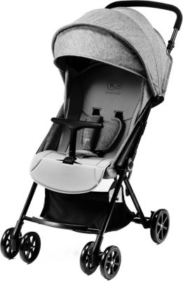 Kinderkraft Kinderwagen Grande Kinderbuggy Baby Liegebuggy Sportwagen Grau