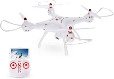 Квадрокоптер с WiFi камерой Syma X8SW-D, белый