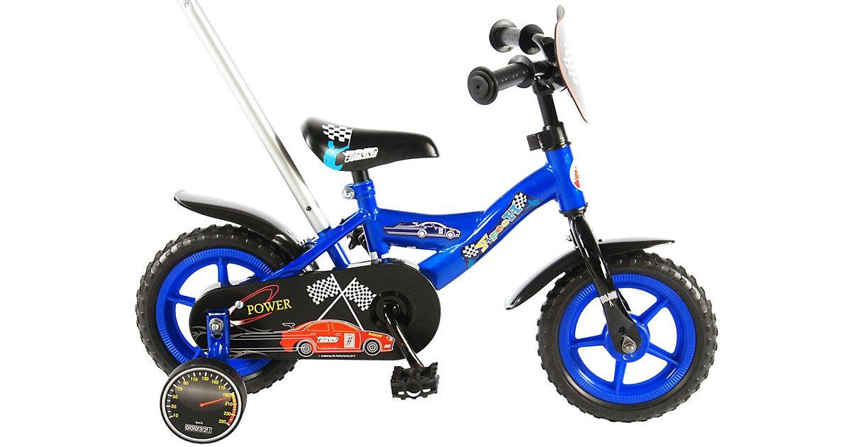 Power Kinderfahrrad - Jungen - 10 Zoll - Blau blau