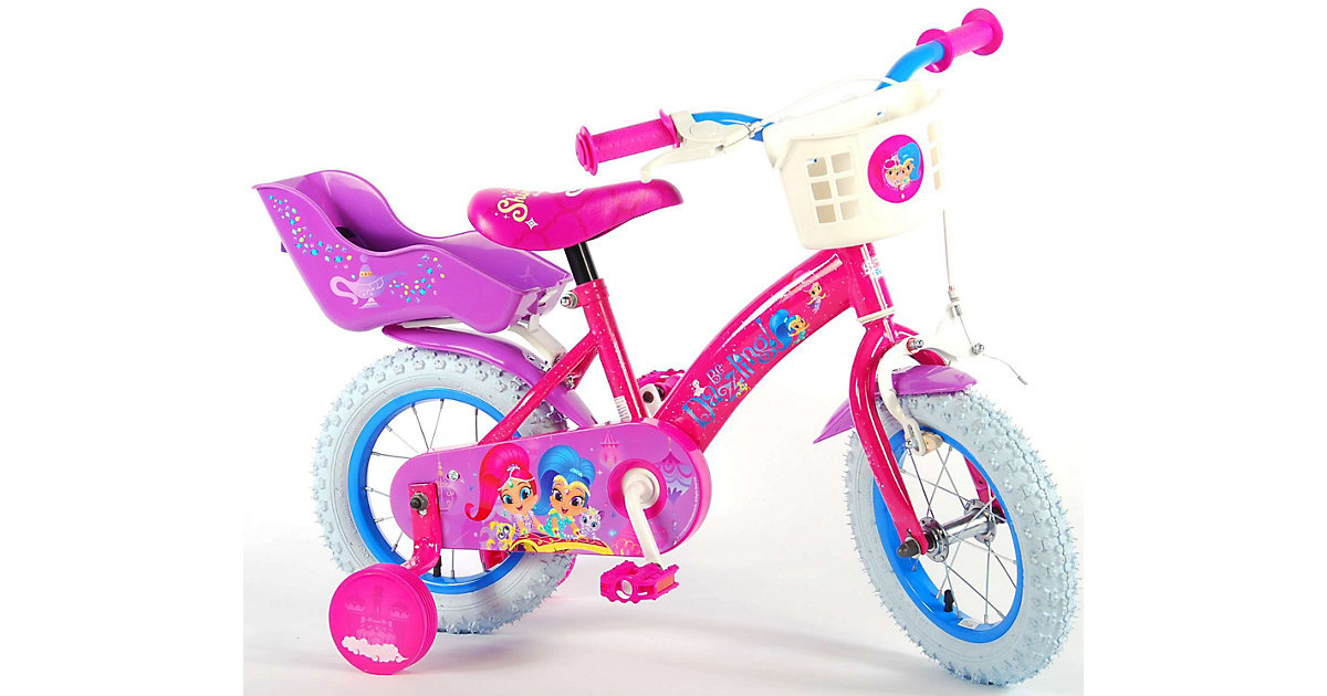 Kinderfahrrad - Mädchen - 12 Zoll - Pink pink