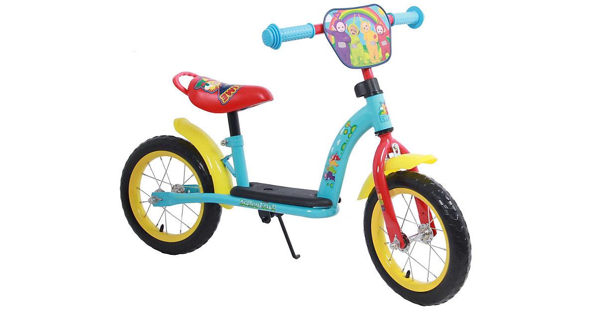 Kinderlaufrad - Jungen und Mädchen - 12 Zoll - Blau / Rot / Gelb mint