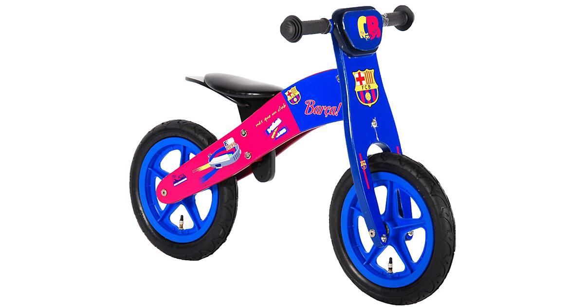 Holz Kinder-Laufrad 12 Zoll rot-kombi