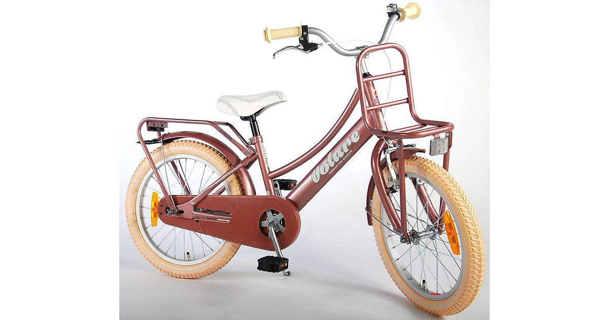 Excellent Kinderfahrrad - Mädchen - 18 Zoll - Old Pink - altrosa   Kinderzimmer > Spielzeuge > Kinderfahrräder   Volare