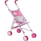 Коляска-трость для кукол Baby Annabell, розовая
