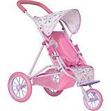 Коляска для кукол Baby Born, розовая