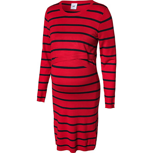 MLBIRTHE JUNE L/S KNIT ABK DRESS NF - Umstandskleider - weiblich