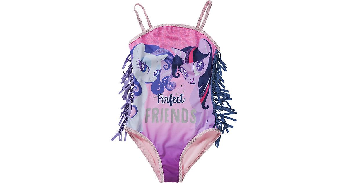 My little Pony Kinder Badeanzug pink Gr. 98 Mädchen Kleinkinder