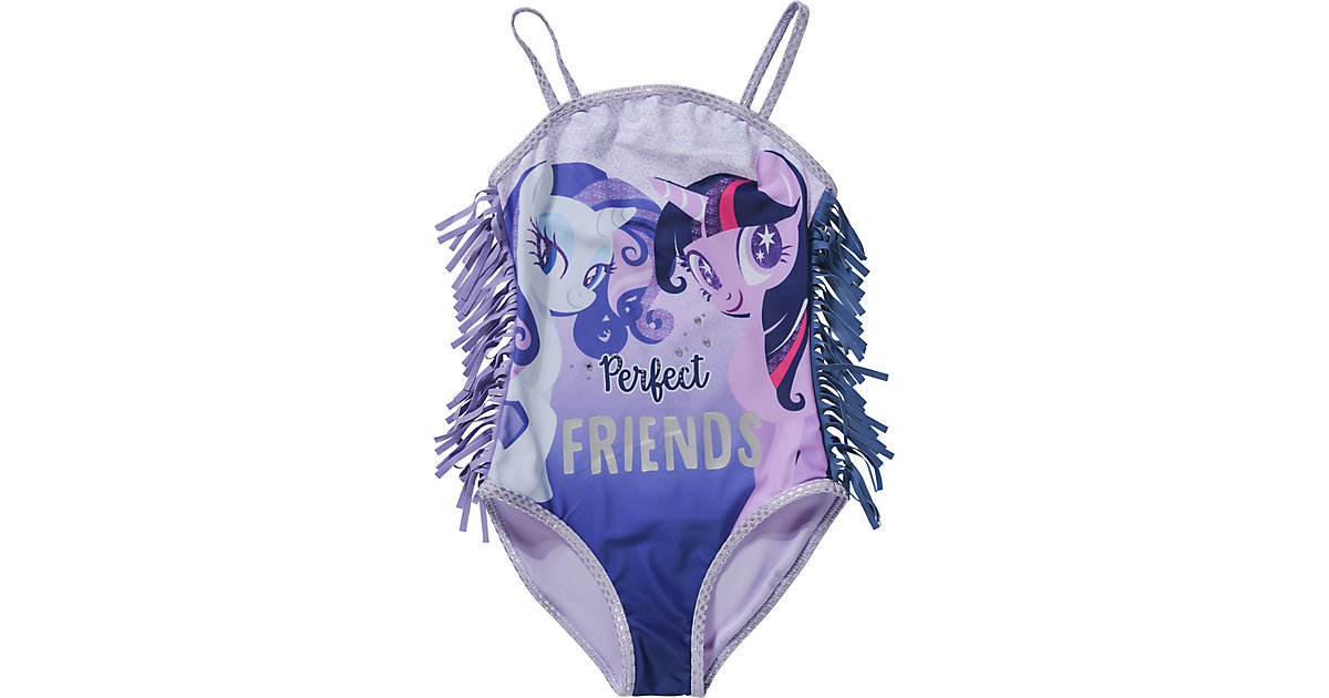My little Pony Kinder Badeanzug lila Gr. 104 Mädchen Kleinkinder