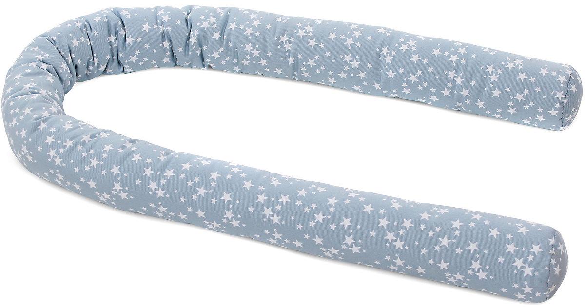 Tobi Babybay · Nestchenschlange all babybay modelle, azurblau mit weißen Sternen, 180 x 9 cm Kinder