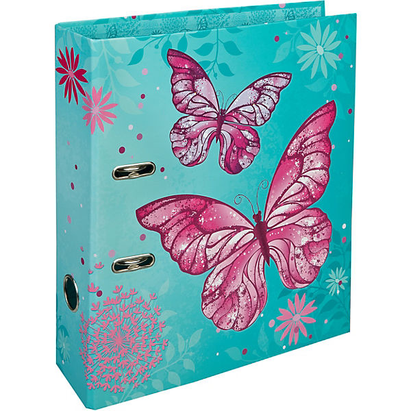Schulordner A4 Butterfly