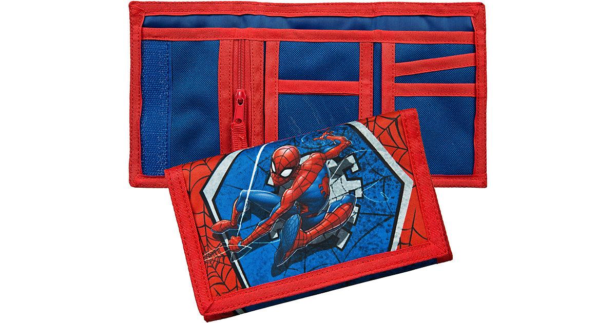 Geldbörse Spider-Man blau/rot Jungen Kinder