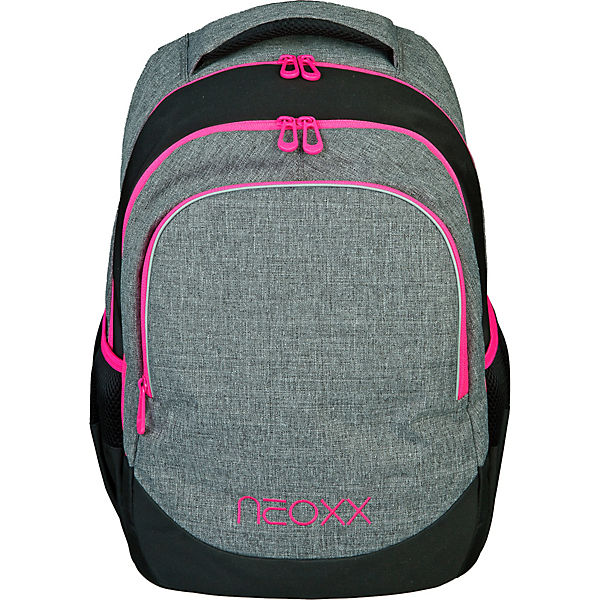 NEOXX Schulrucksack neoxx Fly Pink and Famous