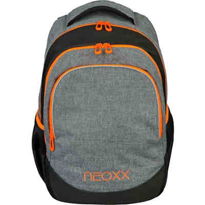 Schulrucksack neoxx Fly Stay orange (Kollektion 2019/2020)