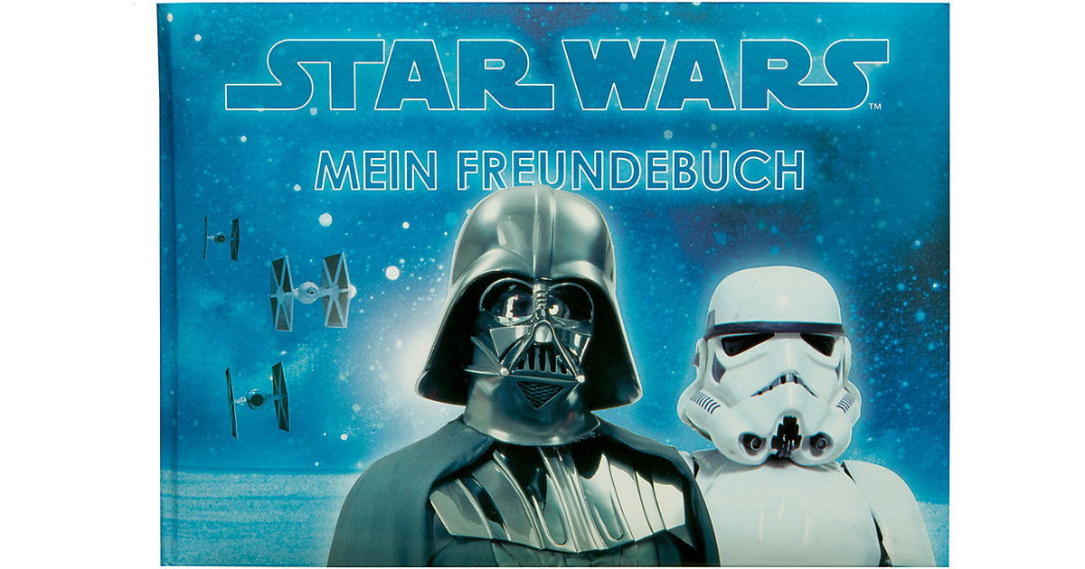 Buch - UNDERCOVER Freundebuch A5 Star Wars