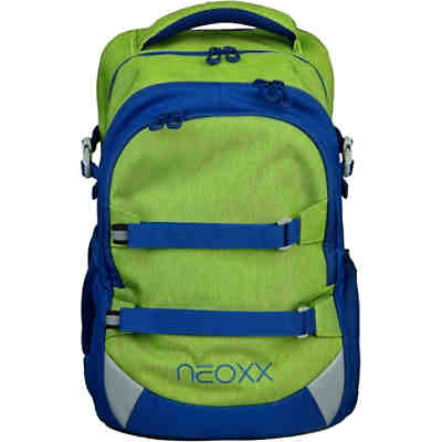 Schulrucksack neoxx Active Lime o'clock (Kollektion 2019/2020)