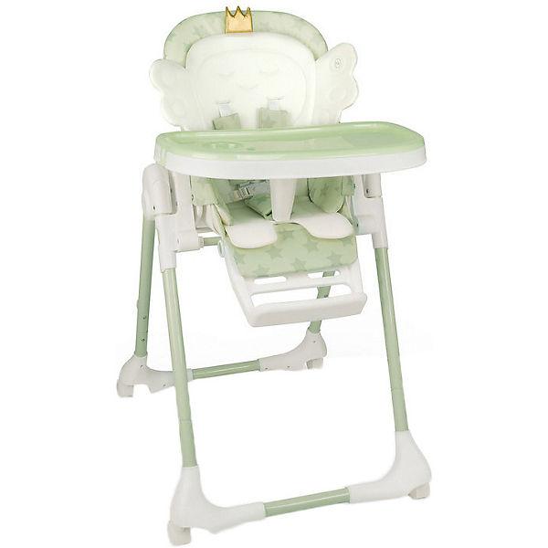 """Стульчик для кормления Happy Baby """"Wingy"""" зелёный"""