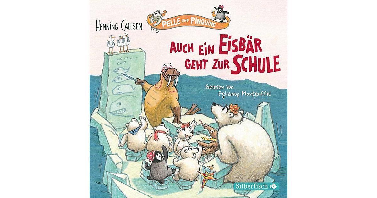 Auch ein Eisbär geht zur Schule, 1 Audio-CD Hörbuch