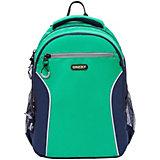 Рюкзак Grizzly, зеленый - темно-синий