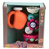 Игрушка для ванны Junfa Toys Мельница, розовая