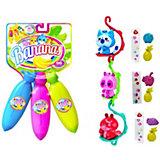 """Игровой набор Cepia """"Bananas"""" 3  банана с сюрпризом, синий, фиолетовый, розовый"""