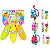 """Игровой набор Cepia """"Bananas"""" 3  банана с сюрпризом, оранжевый, жёлтый, зелёный"""