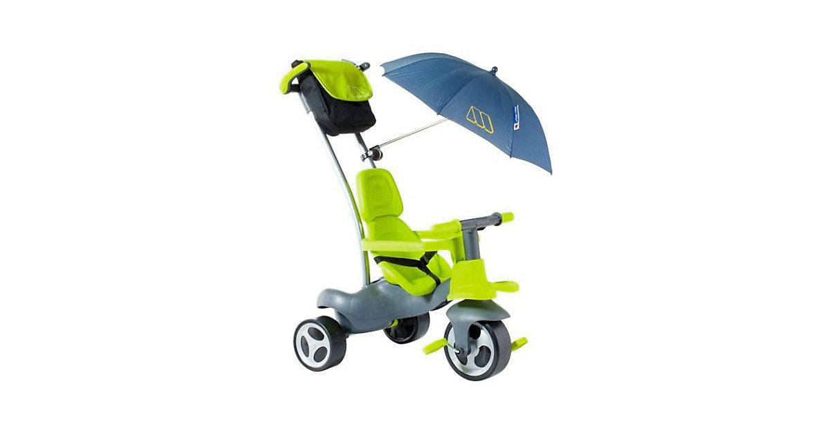 Molto · Urban Trike Soft grün mit Flüsterrädern und Sonnenschirm
