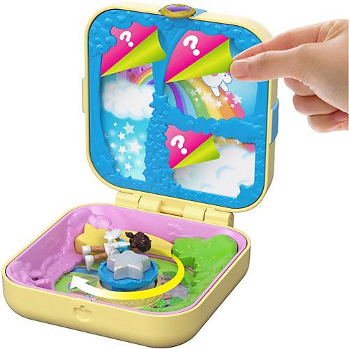 """Игровой набор Polly Pocket """"Мини-мир"""" Утопия единорогов от Mattel"""