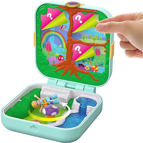 """Игровой набор Polly Pocket """"Мини-мир"""" Трепещущий лес от Mattel"""
