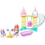Игровой набор Barbie Dreamtopia Детская площадка с русалочкой Челси