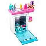 """Набор мебели для кукол Barbie """"Отдых дома"""" Посудомоечная машина с раковиной"""