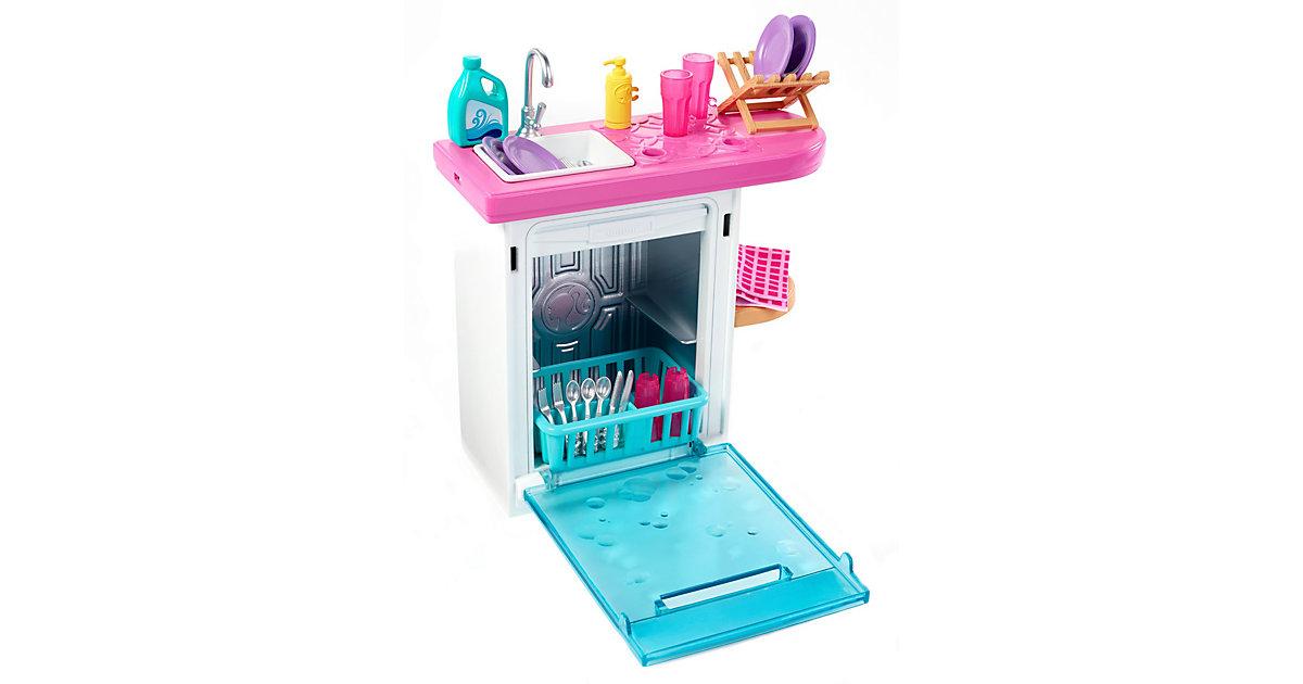 Barbie Möbel-Spielset Spülmaschine | Küche und Esszimmer > Küchenelektrogeräte > Spülmaschinen | Mattel