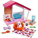 """Набор мебели для кукол Barbie """"Отдых дома"""" Домик с собачками"""